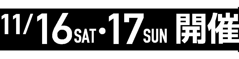 2019年11月16・17日
